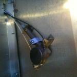 Oven boiler in mount