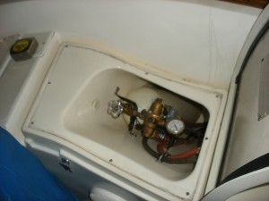 CNG to Propane Converstion for Seaward Regal (GSI) Stove