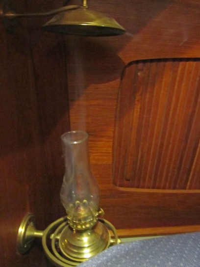 smoke from oil lamp