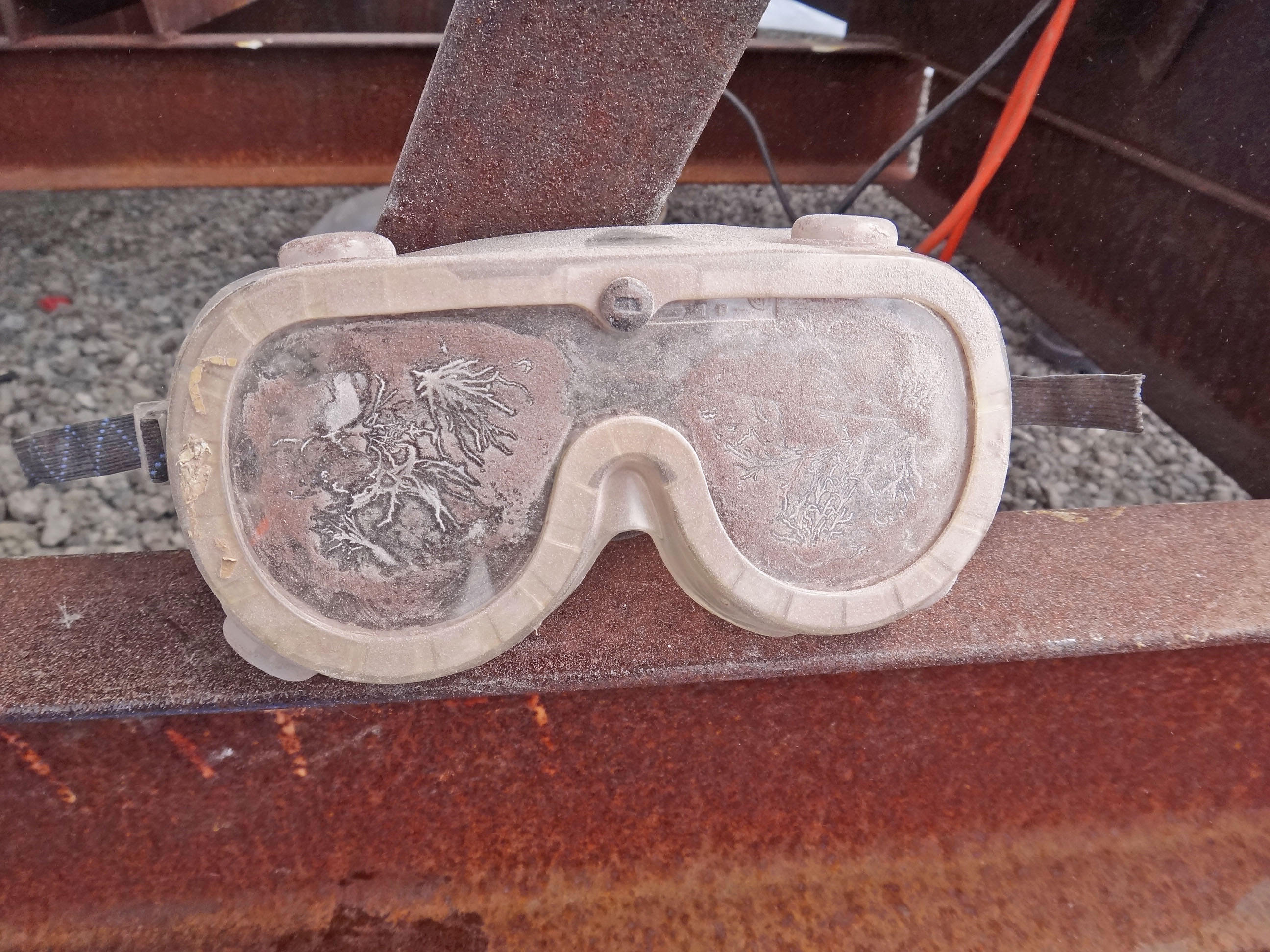 work goggles