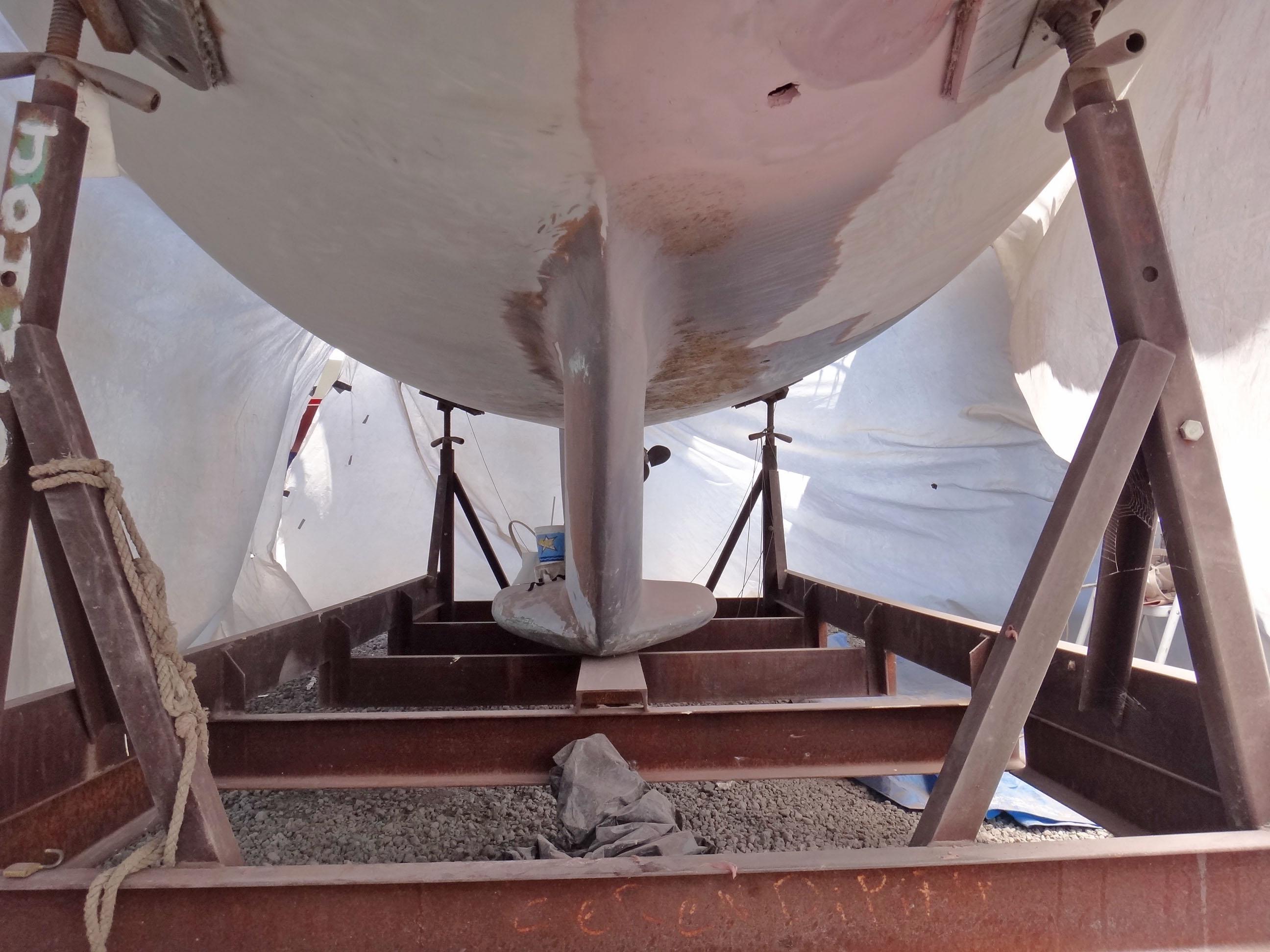 bottom of hull