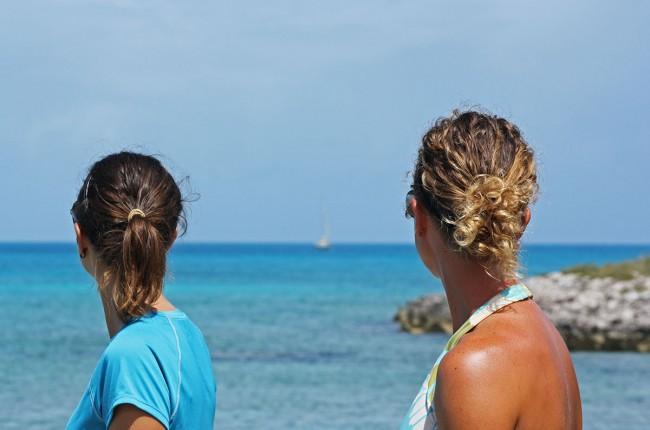 Jessica & Stephanie, Flamingo Cay