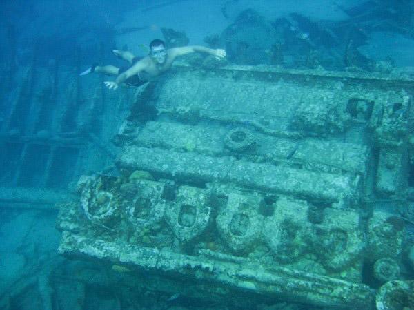 Brian - snorkeling ship