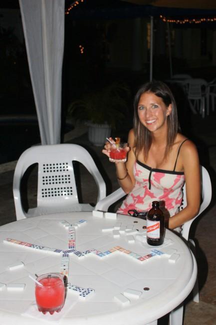 Jessica, fancy cocktail hour