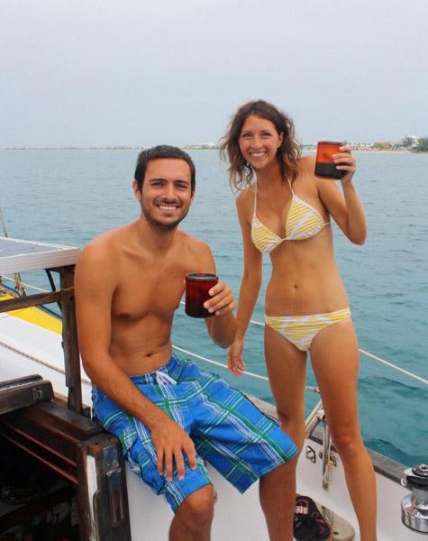 pleasure cruise - Matt n Jess coffee