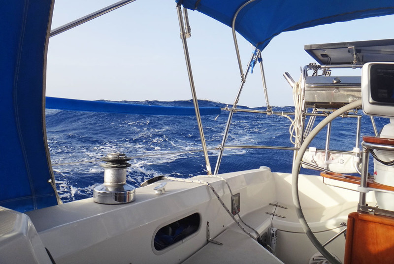 waves in Caribbean Sea