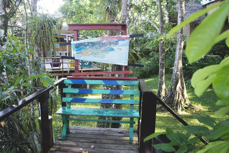 bench at Tortugal