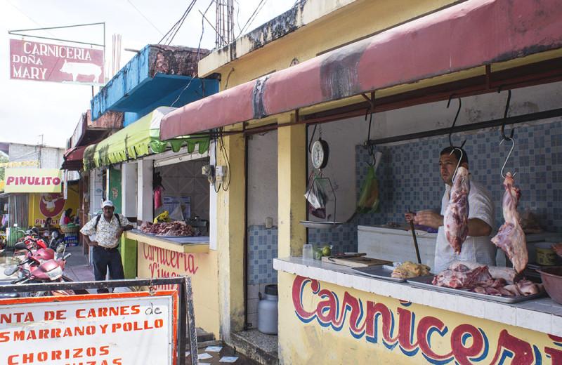 butcher shop in Morales