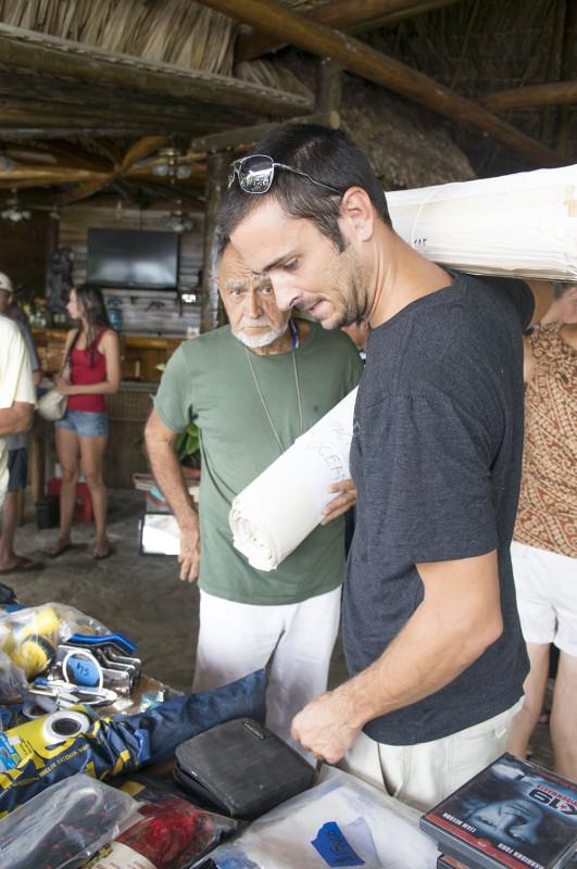 Luis and Matt at swap meet