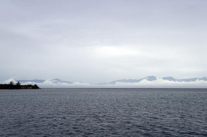 Bay in Utila Honduras