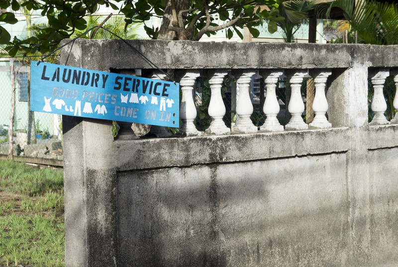 laundry service Utila