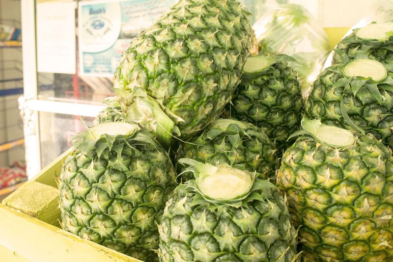 pineapples Utila