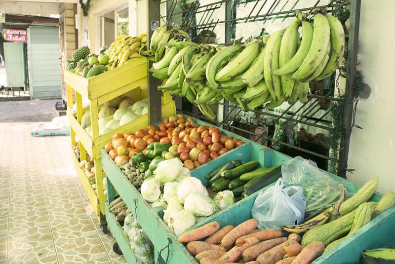 Fruit stand, Utila