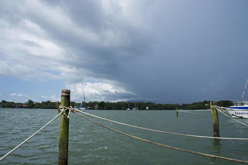 rain clouds threaten