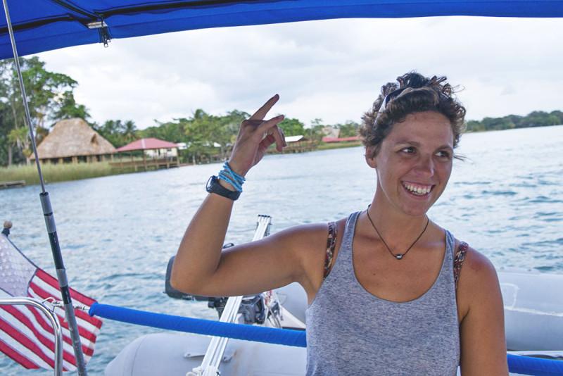 Ana Bianca's great captaining skills