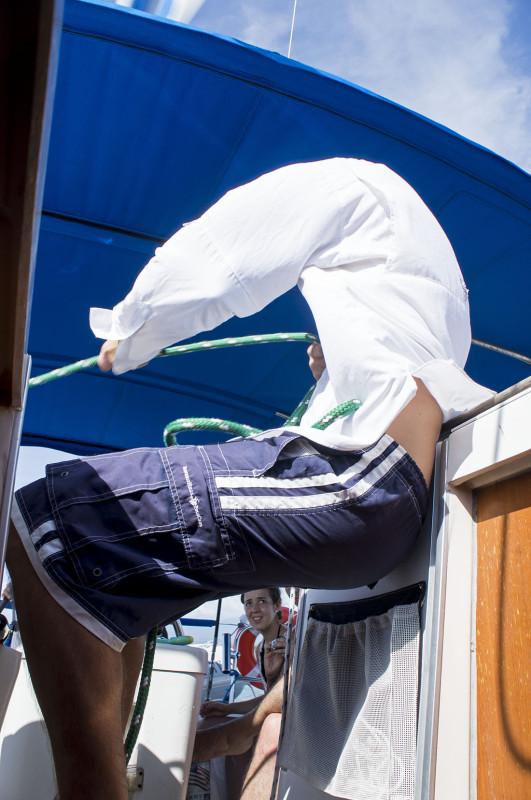 Matt trimming sails
