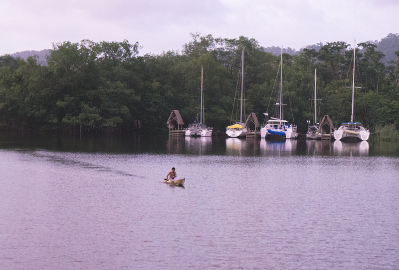 boats in Texan Bay