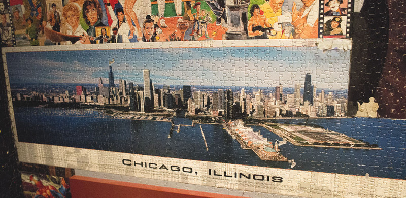 puzzle of Chicago
