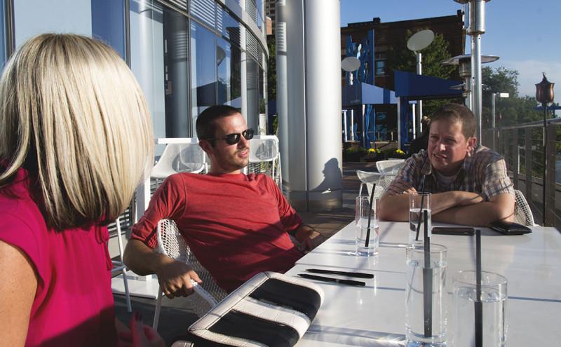 Matt at JW Marriott