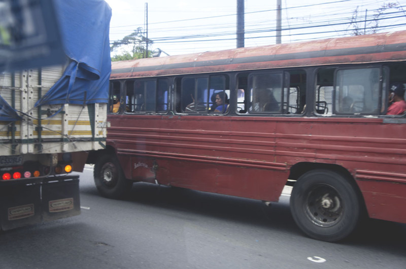 bus in Guate City