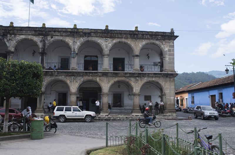 city center of Antigua
