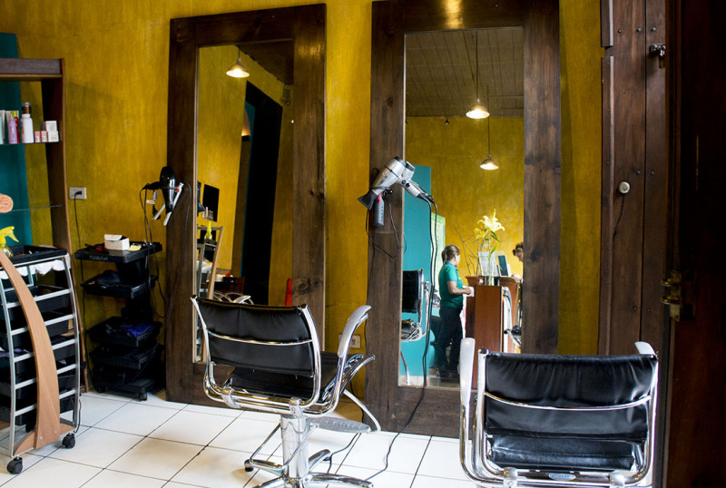 beauty salon, Antigua