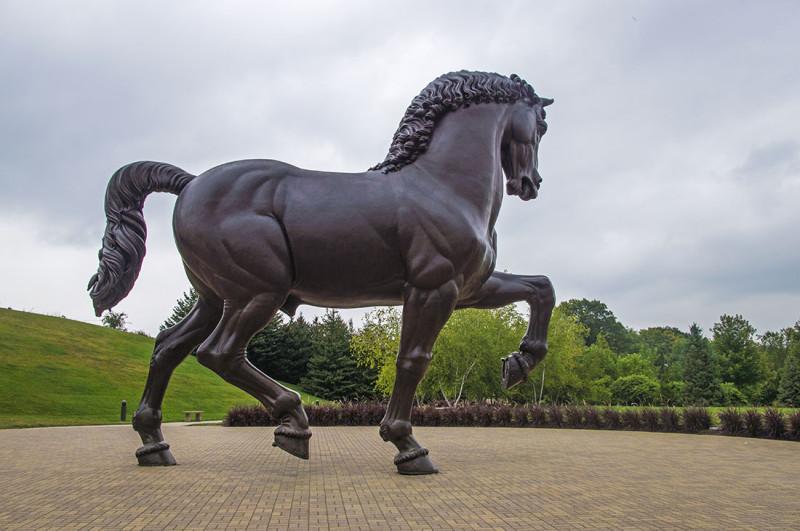 Frederick Meijer Gardens Horse