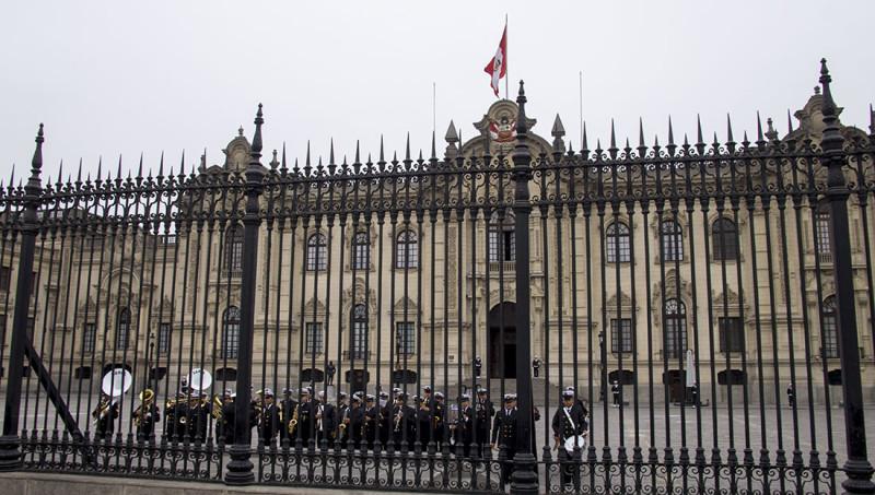 changing of the guard, Lima Peru