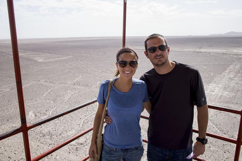 Jessica & Matt - Nazca Lines
