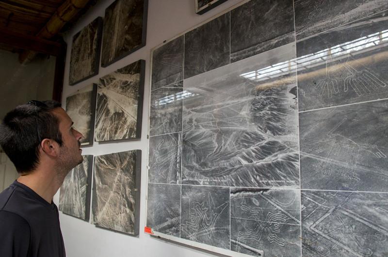 aerial views of Nazca Lines