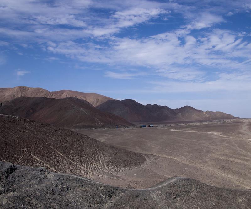 Nazca desert & Pan American Highway