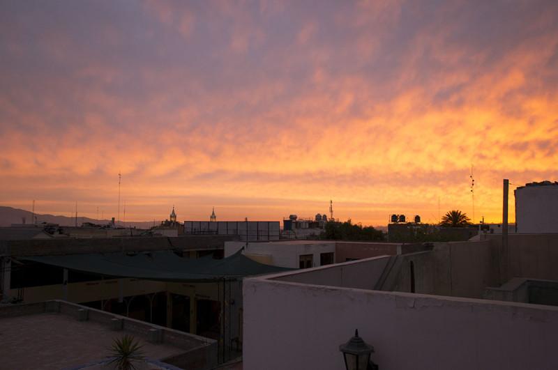 Arequipa sunset 1