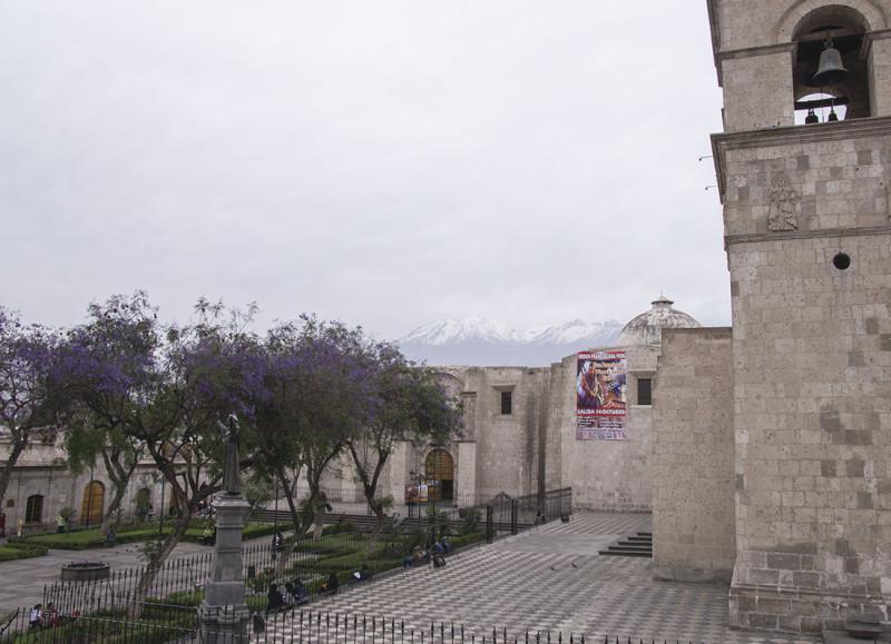 overlooking Misti