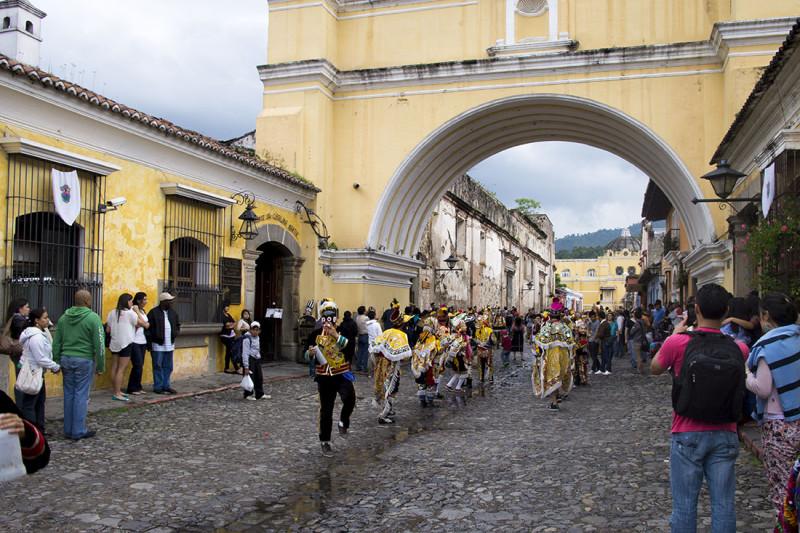 Antigua arch 1