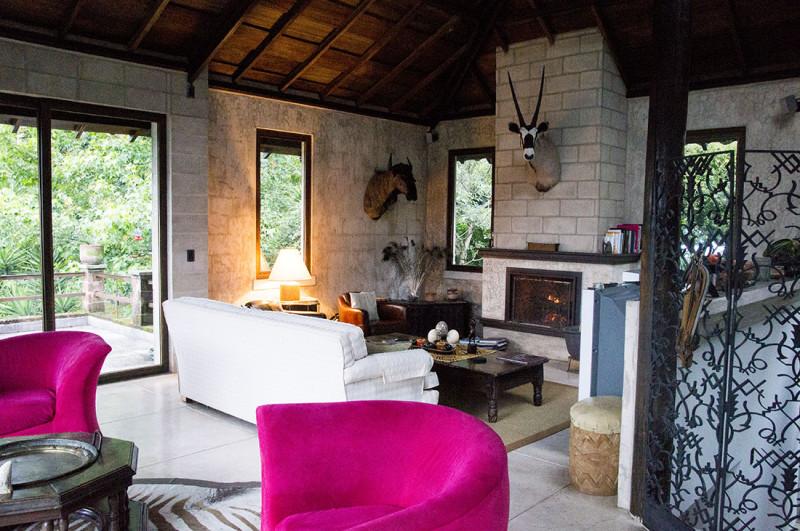 Jean-Louis' living room