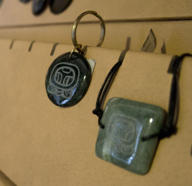 Mayan jade symbols
