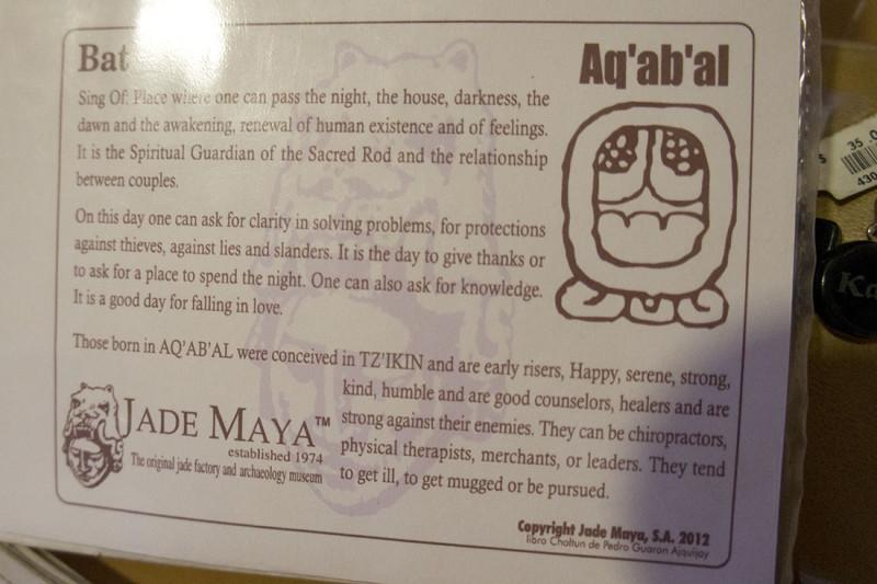 Mayan astrology symbol