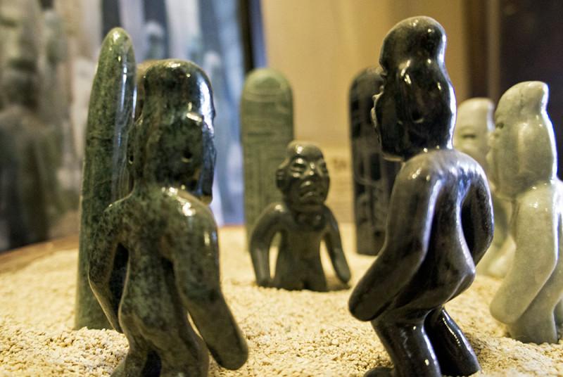 Jade Maya figures