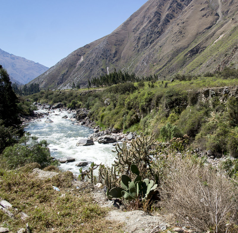 river outside of Cusco