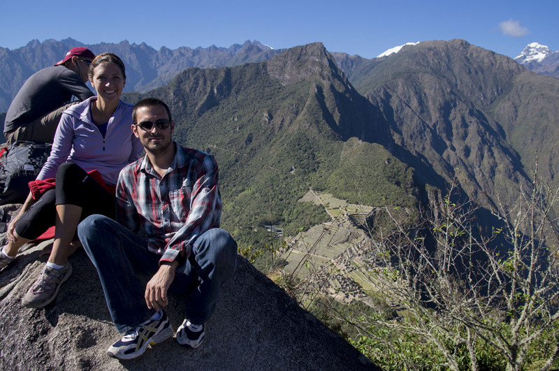 top of Huayna Picchu