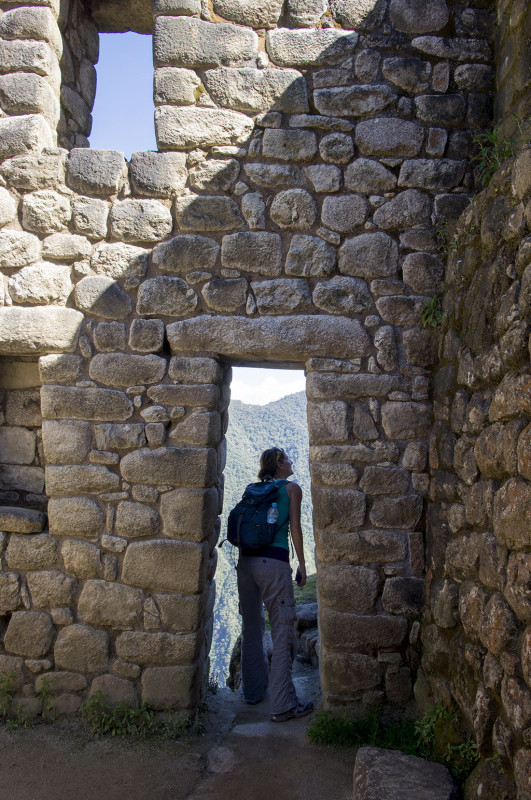 stone hut on Huayna Picchu