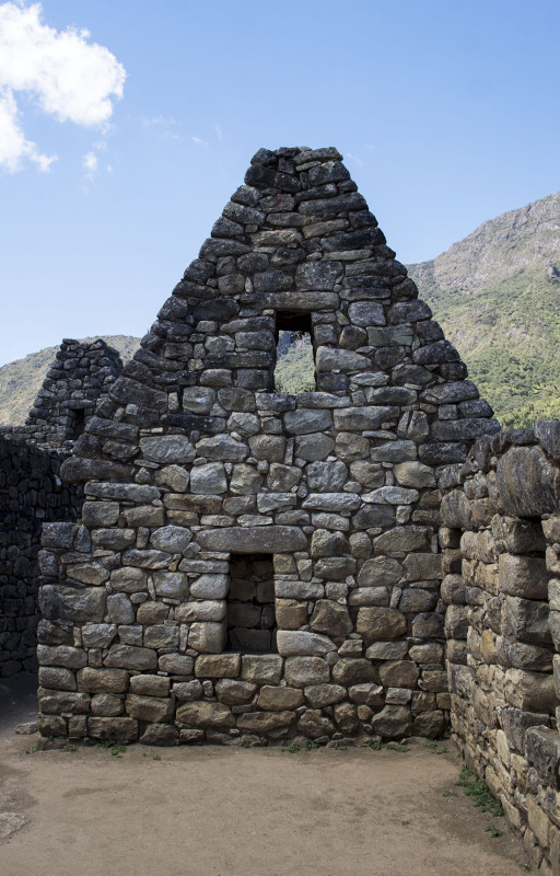 stone house of Machu Picchu