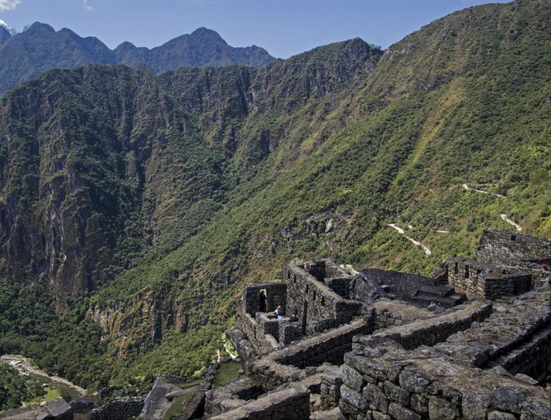 stone walls of Machu Picchu