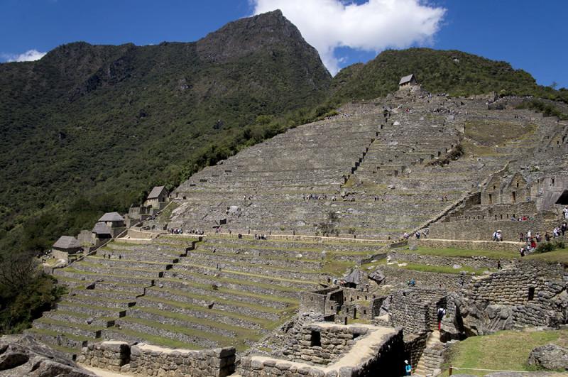 ascending levels  Machu Picchu