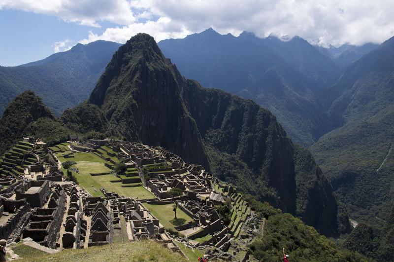 overlooking Machu Picchu & Huayna Picchu