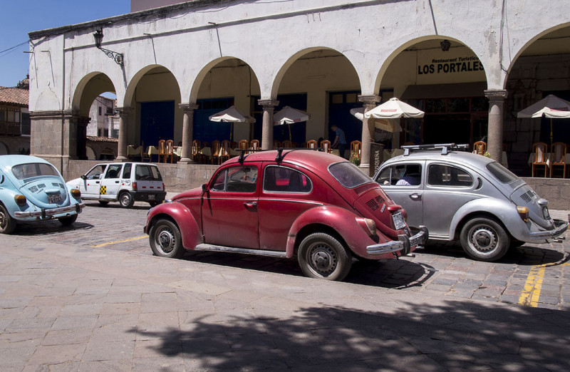 VW Bugs in Cusco