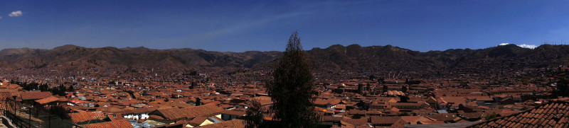 panoramic of Cusco