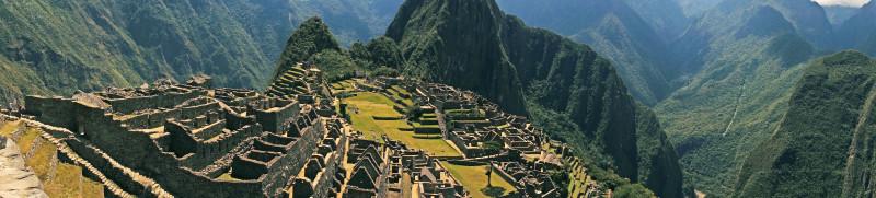 panoramic Machu Picchu
