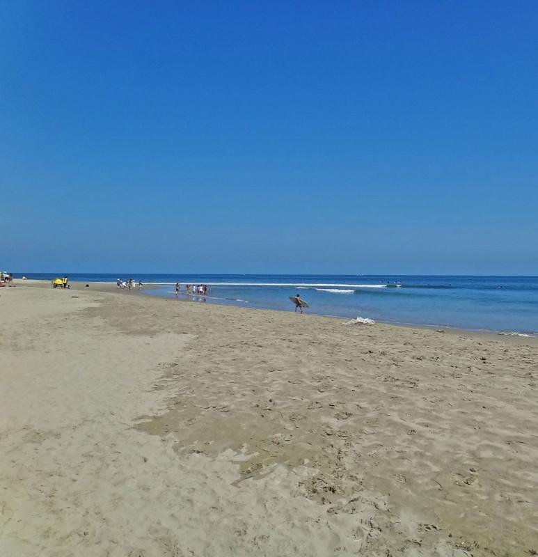 beach in Mancora Peru