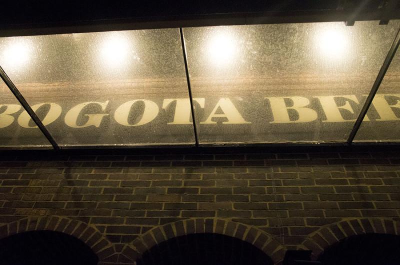 sign, Bogota Beer Company